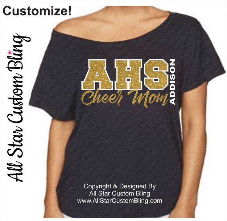 Cheer Bling Shirt Designs