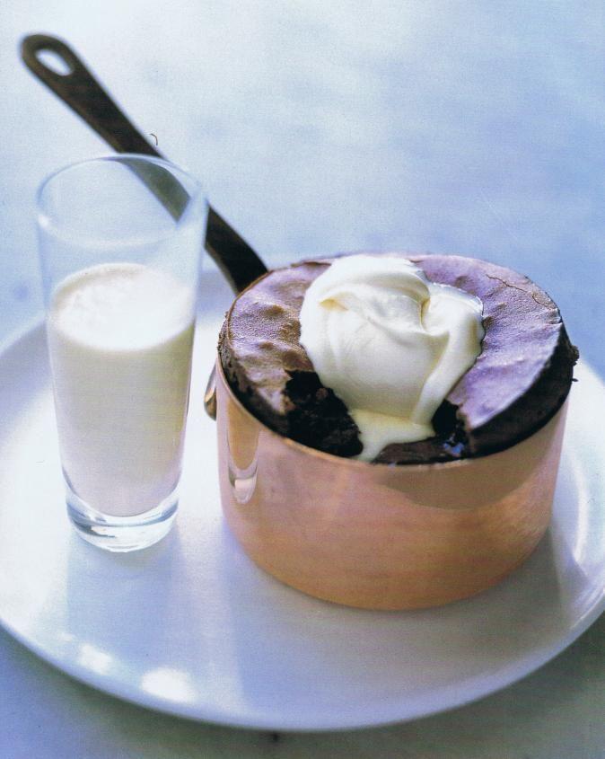 Donna Hay Molten Chocolate Pudding.