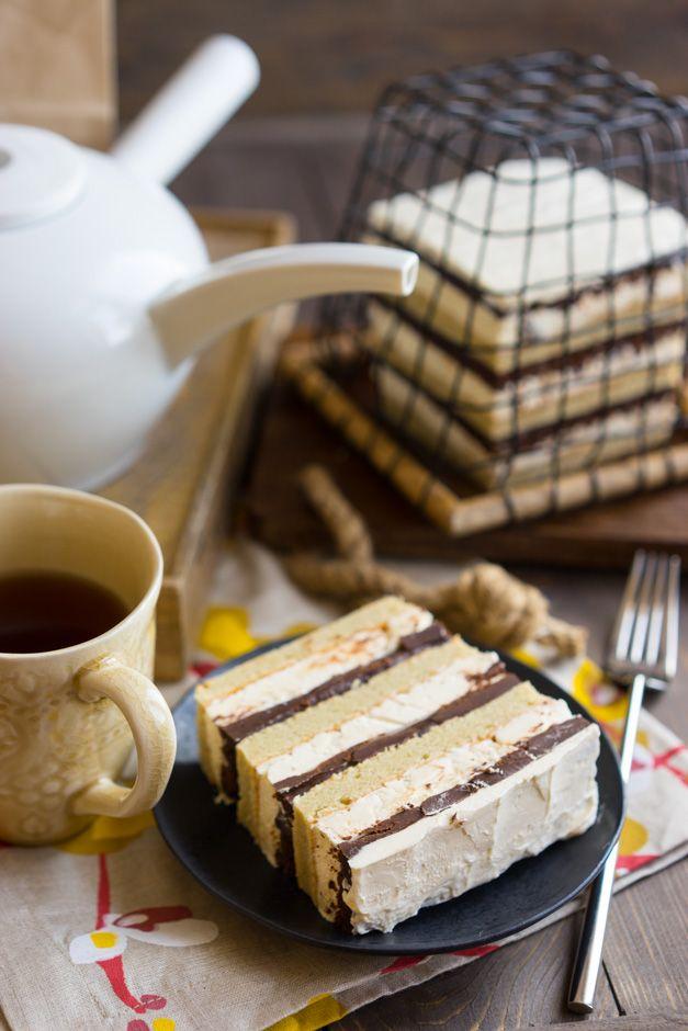 Многослойное кофейное удовольствие - Andy Chef - блог о еде и путешествиях, пошаговые рецепты, интернет-магазин для кондитеров