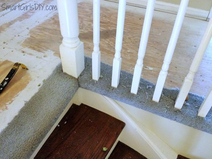 1000 Ideas About Removing Carpet On Pinterest Stair Makeover Newel Posts And Staircase Makeover
