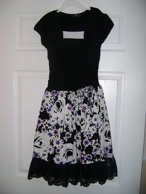 Random Bursts: How to Lengthen a Dress