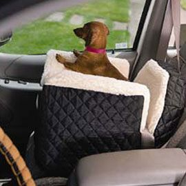 Give your dog a better view out the window!    This seat offers your dog a comfortable place to sleep and gives him a big boost to look out the car window.