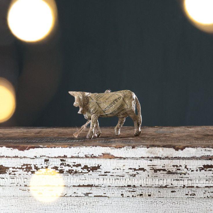 Paper Mache Animal Ornament