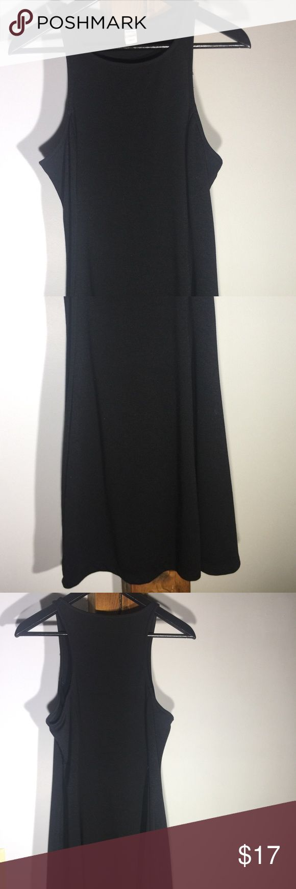 Old Navy Skater Dress Never worn Old Navy Black Skater Dress. Size M. 75% polyester, 21% rayon. Old Navy Dresses