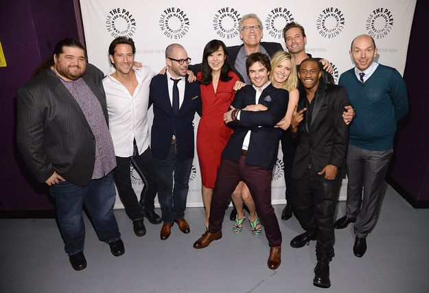 "At Paleyfest, many of the Lost cast members came together again because they know what this world wants and needs. | The ""Lost"" Cast Reunited And It Was A Beautiful Thing"