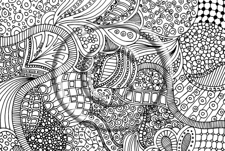 78 Images About Zentangle Coloring Pages On Pinterest