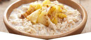 Porridge di avena  e cannella