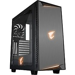 Aorus Ac300w Rev 2 0 Computer Case With Transparent Side Panel