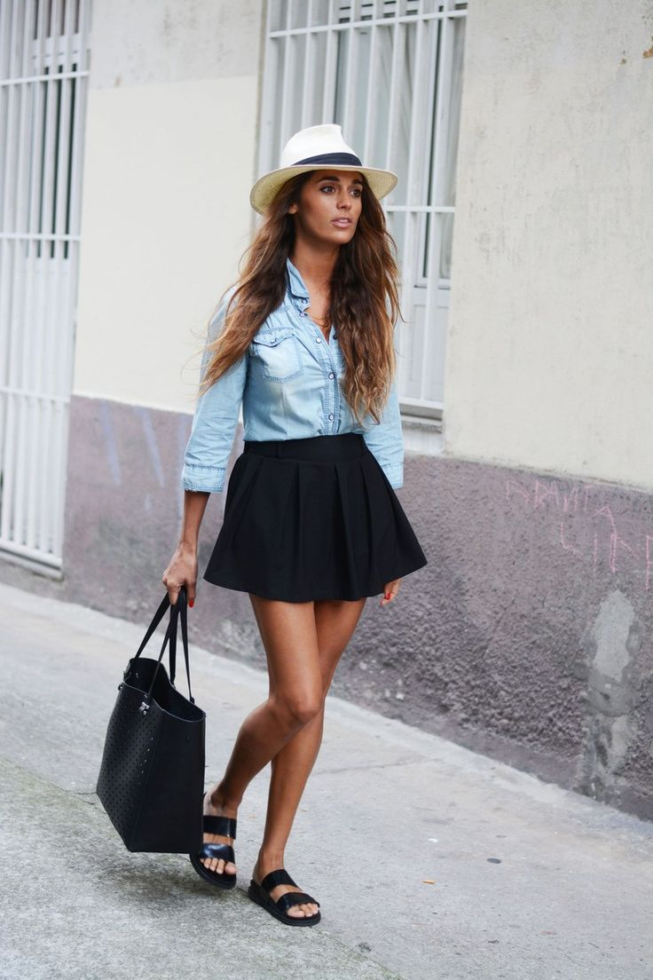 How to Wear a Chambray Shirt: Making This Top Look Great - Be Modish - Be Modish