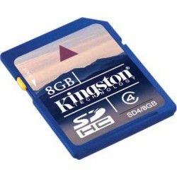 Secure digital 8 gb sdhc class 4 kingston