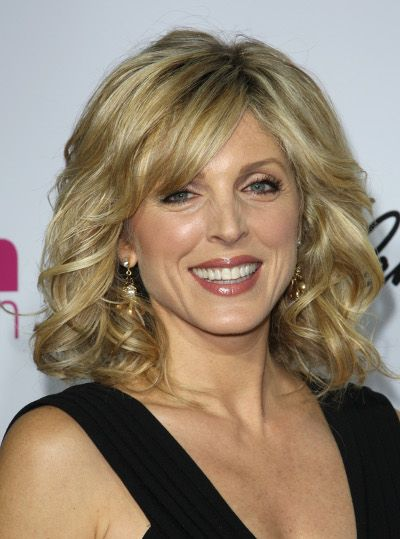marla maples shoulder length hairstyle