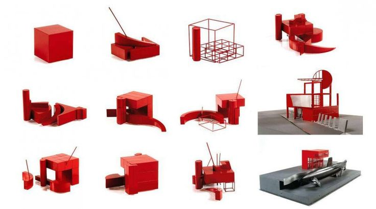 Autonomous Neutral Objects: The Combinatorial Models of La Villette's Folies, Bernard Tschumi