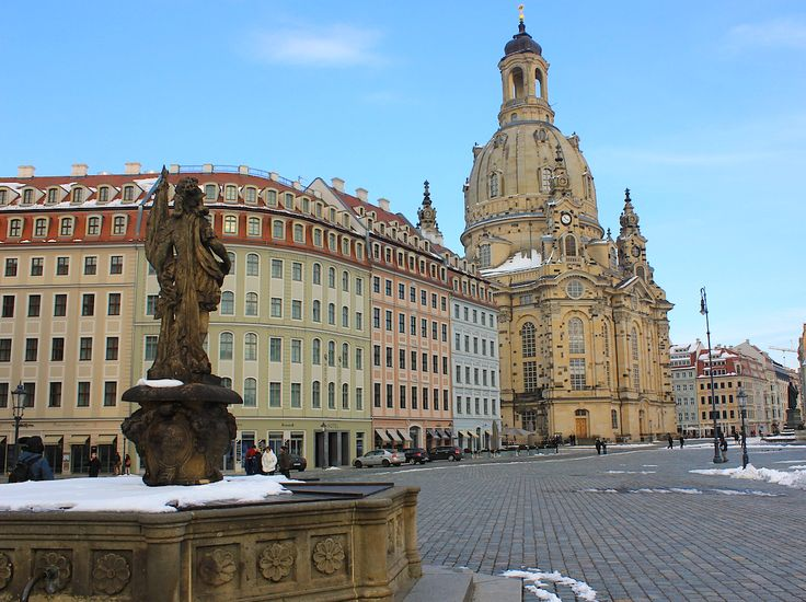 Dresden in Germany is a unique town with wonderful architecture and beautiful environs in the Saxon countryside.