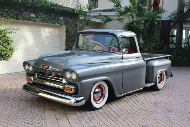 1958 Chevy Apache Pickup Truck - front 3/4