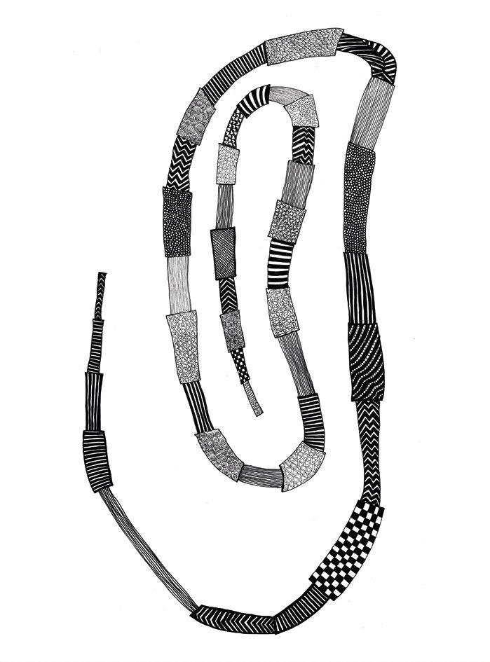Ring, Illustration by Betina Helles