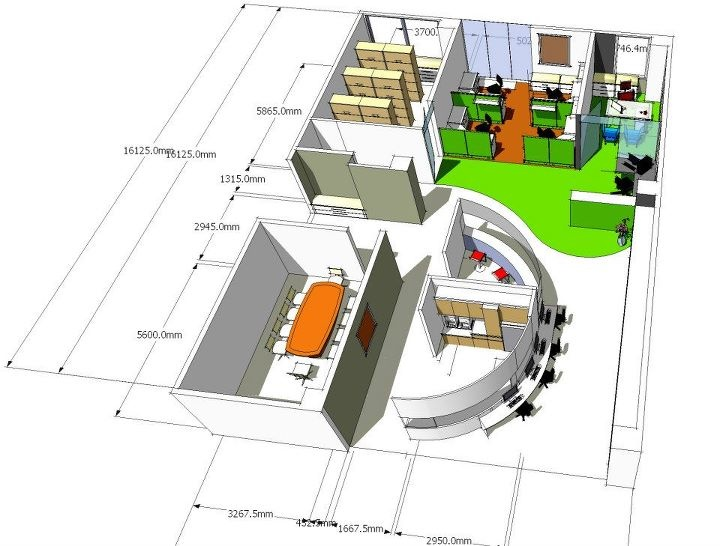 Re Layouting-Can & Bottle Company at Pluit |  3d by Private! | Sketchup