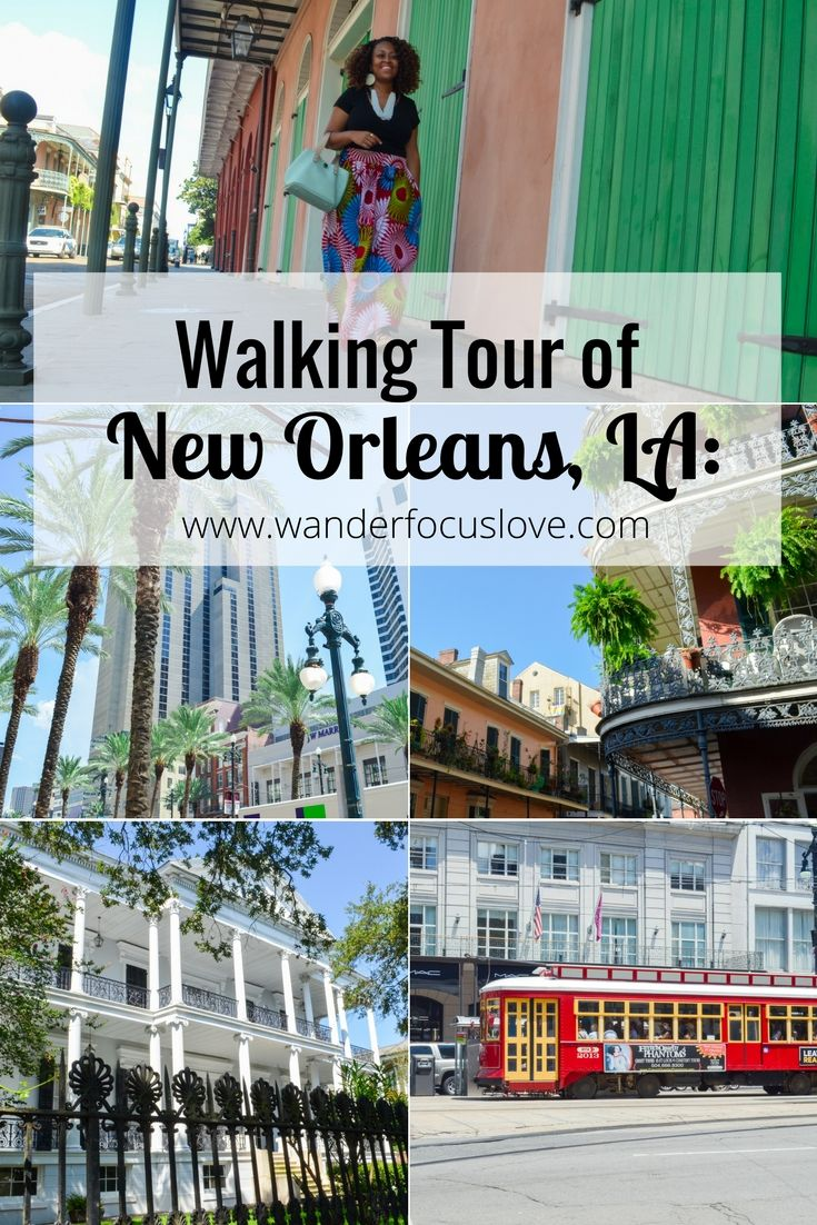 The best way to tour New Orleans, Louisiana (USA)? Walking around her famous streets for an up-close experience. Book of her many walking tours today!