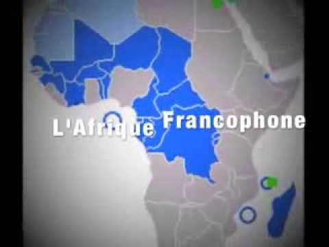 L'Afrique Francophone: Apprendre les pays - Learn the French-speaking African countries - YouTube