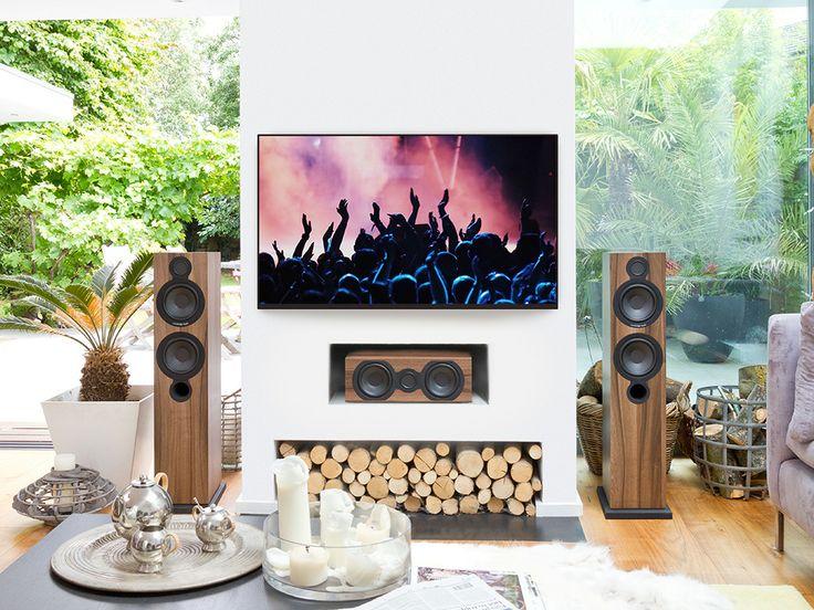 Cambridge Audio Aero 6 floorstanders and Aero 5 centre speaker