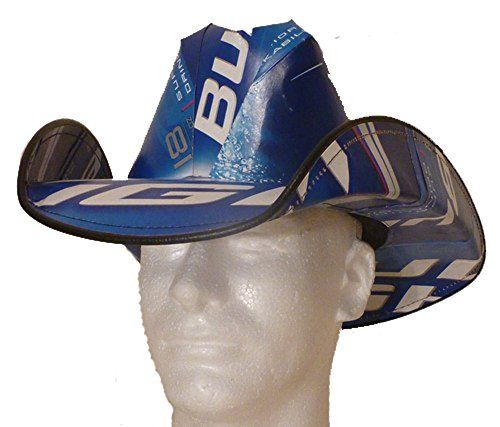 beer box Hat Made From Recycled Bud Light Beer Boxes -- Visit the image link more details.