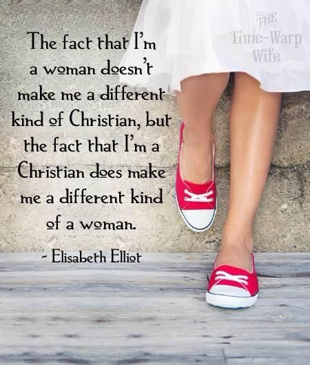 """From her book, """"Let Me Be a Woman"""" - Elisabeth Eliot Oh the joy in heaven, Christ's servant has come home"""