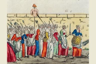 Women�s March on Versailles: Turning Point in the French Revolution: Women's March on Versailles, 1789