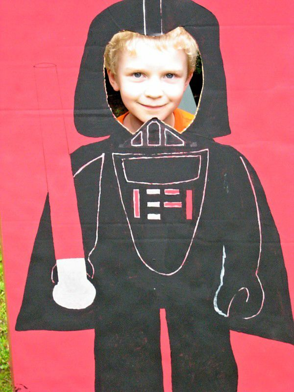 Darth Vader photo opp