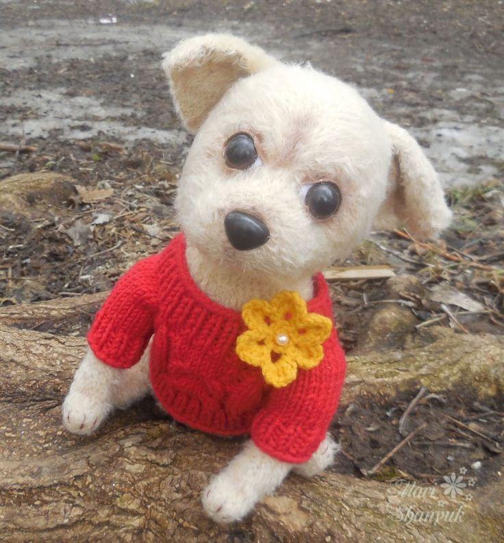 Джесси - щенок чихуахуа (вязаная игрушка)