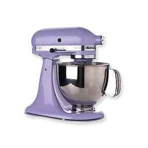 LAVENDER Kitchenaid mixer!! :) Lester LOVES!