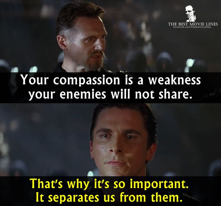 - Liam Neeson and Christian Bale in Batman Begins (2005)