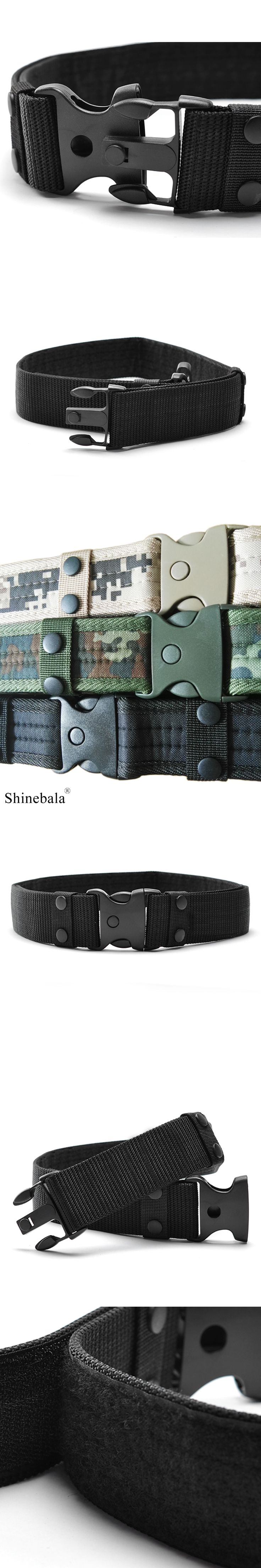 NEW Men's Black Hawk Safety Waist Military Belt Army Tactical Belt Support Belt Nylon Male Combat Waistband Belts Men  GU212