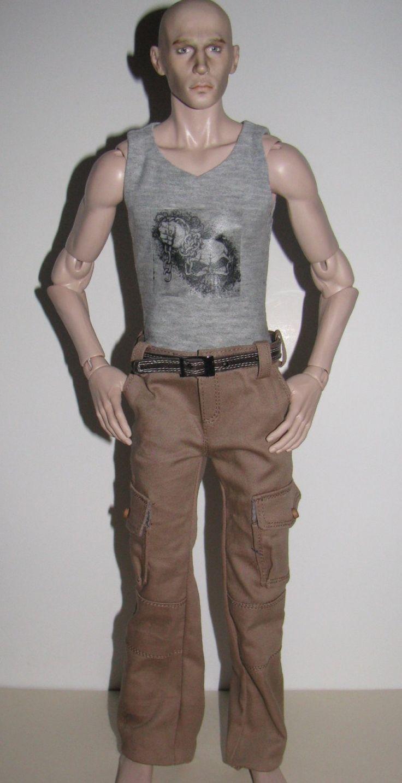 Cargo pants for aGatti man mCC body by NatZayShop on Etsy