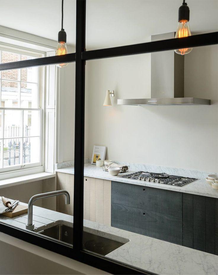 modern rustic kitchen via @citysage