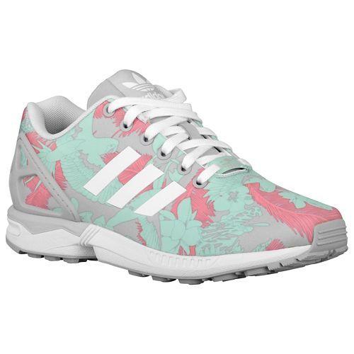 adidas zx flux w rose poudre blanc