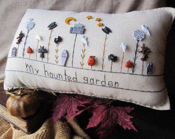 Mi almohada Natividad jardín estilo casa de campo por PillowCottage