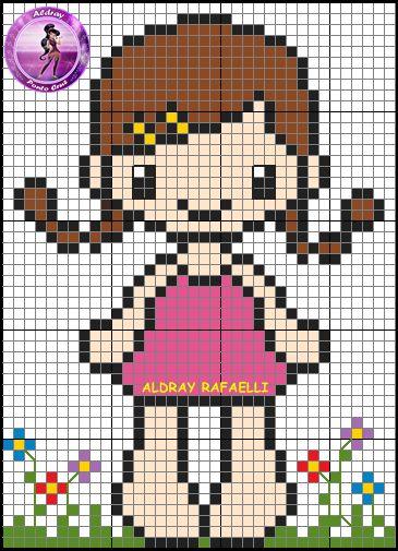 Girl pattern by Aldray Ferreira