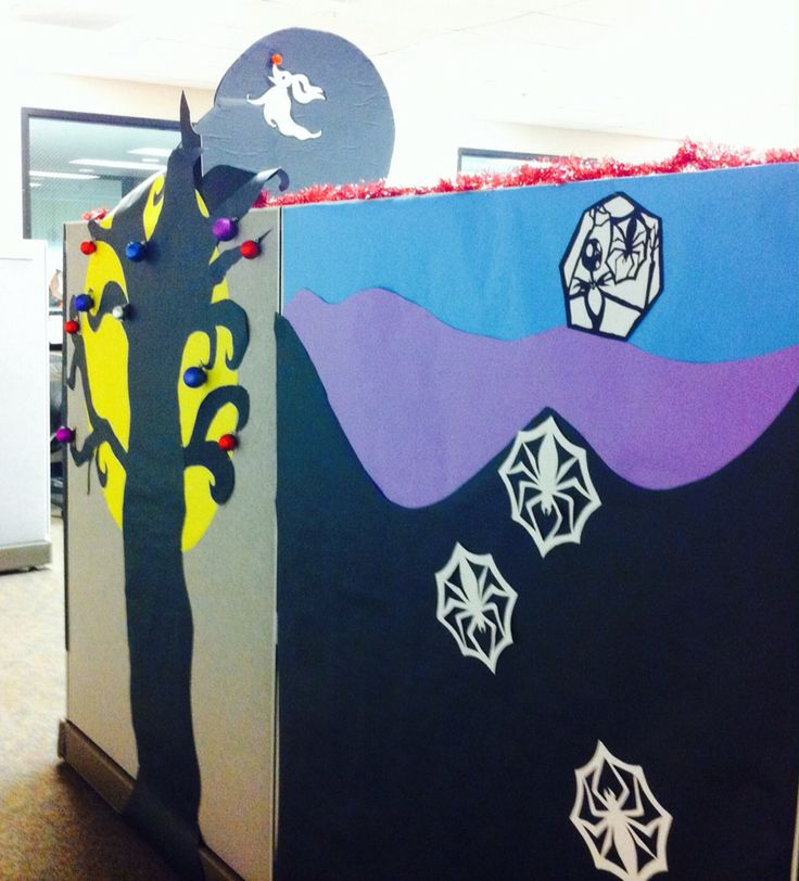 #Nightmare before #Christmas #office #cubical #decor #jack #wreath # & 11 best Office Decorating Nightmare Before Christmas images on ...