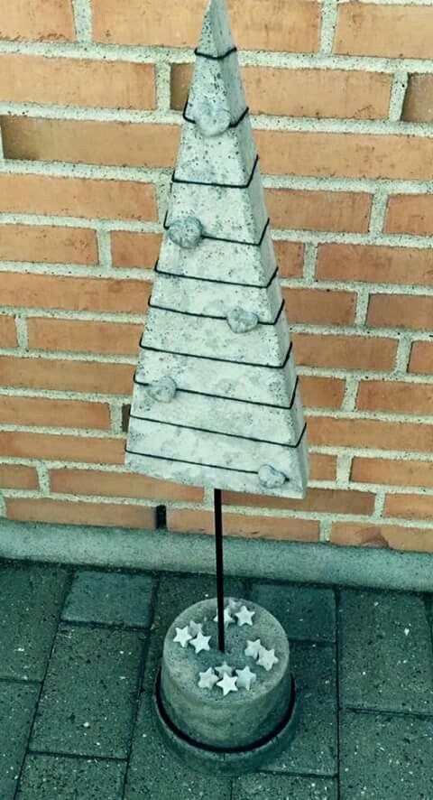 Juletræ i beton