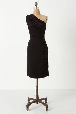 Unilateral Dress / Anthropologie