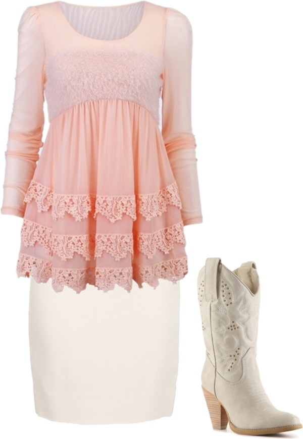 """Country With Class."" by chattertongirl ❤ liked on Polyvore"