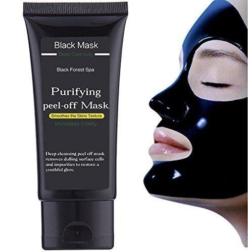 Black Forest Spa® Black Mask / Blackhead Remover / Blackhead Tueur / Black Mask / Masque Peel Off / Masque Noir / Masque Comédons / Masque…