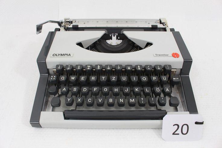 Schreibmaschine Olympia Traveller mit Koffer funktionsfähig in Büro & Schreibwaren, Bürotechnik, Schreibmaschinen | eBay!
