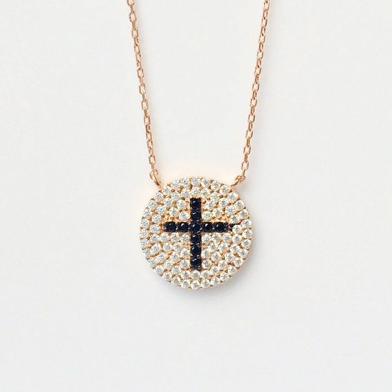 Gold Religious Pendant Thin Chain Renaissance Necklace Pretty Little Thing Ojqdq