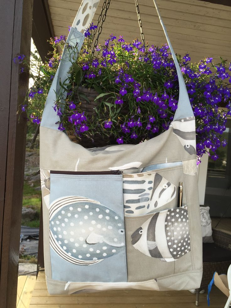My favorite bag.  Pattern from AnnAKa