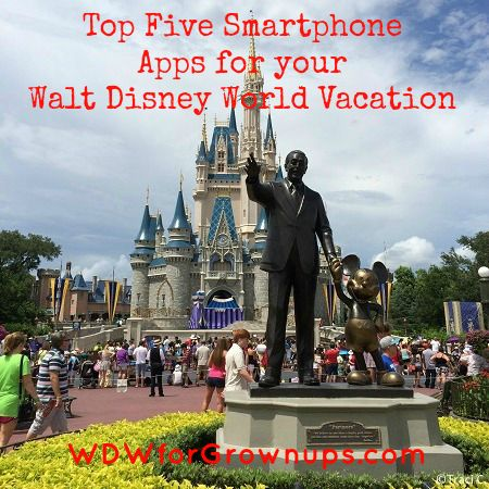 What are your must-have smarthphone apps for a Disney World Vacation?  Not sure ... then check out this list of suggestions!
