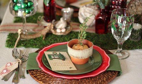 海外のおしゃれなクリスマステーブルコーディネート画像 | Interior Design Box 海外の使えるインテリア術