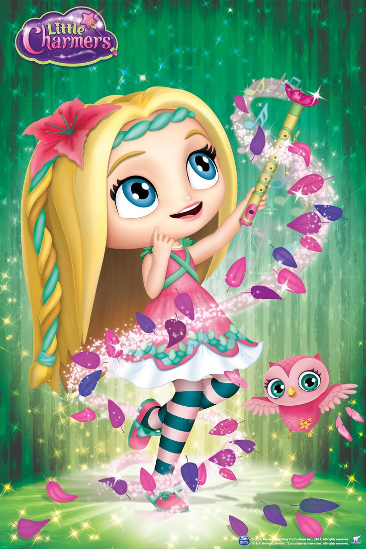Twinkle & Twirl! Posie is a musical spellerina! She dances and plays her flute to a groovy beat.