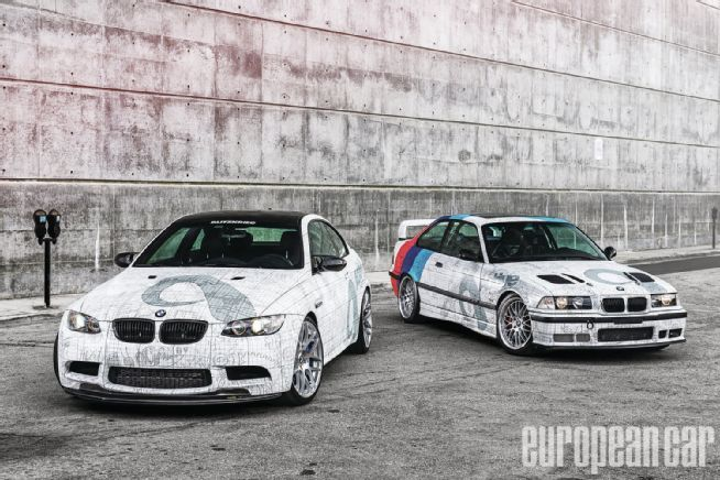 2012 BMW M3 1999 BMW M3 Front View 01