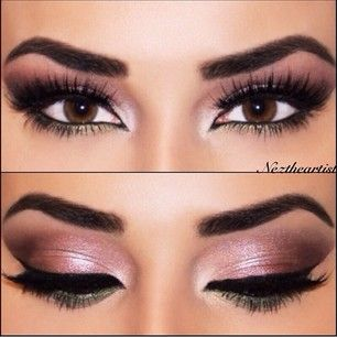 Rose Gold Smokey Eye Makeup Pinterest Smoky Eye Eyebrows And Chang E 3