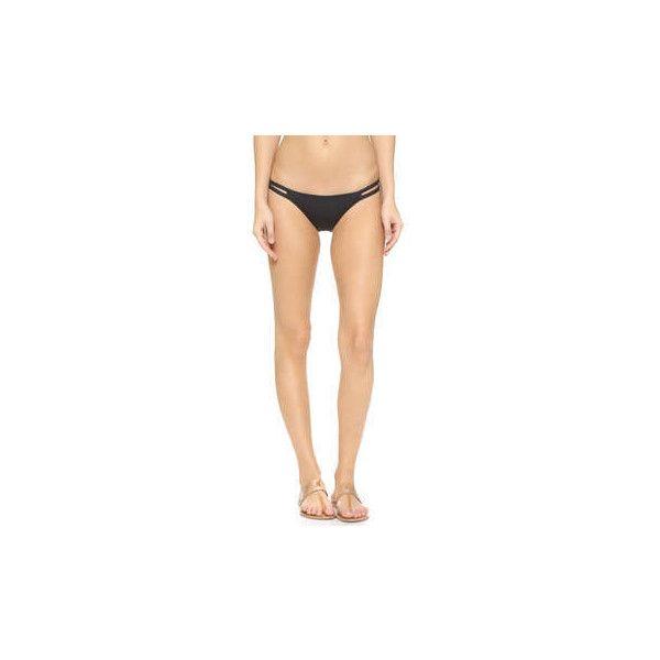 Tavik Swimwear Vine Bikini Bottoms ($62) ❤ liked on Polyvore featuring swimwear, bikinis, bikini bottoms, cut-out swimwear, cut out bikini bottoms, bikini bottom swimwear, low cut bikini bottoms and tavik swimwear